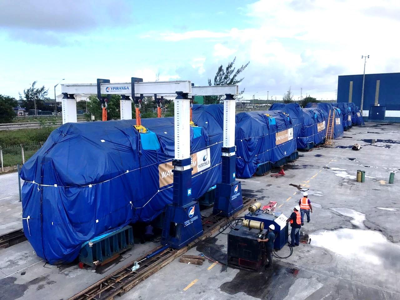 Pórtico de 400 toneladas