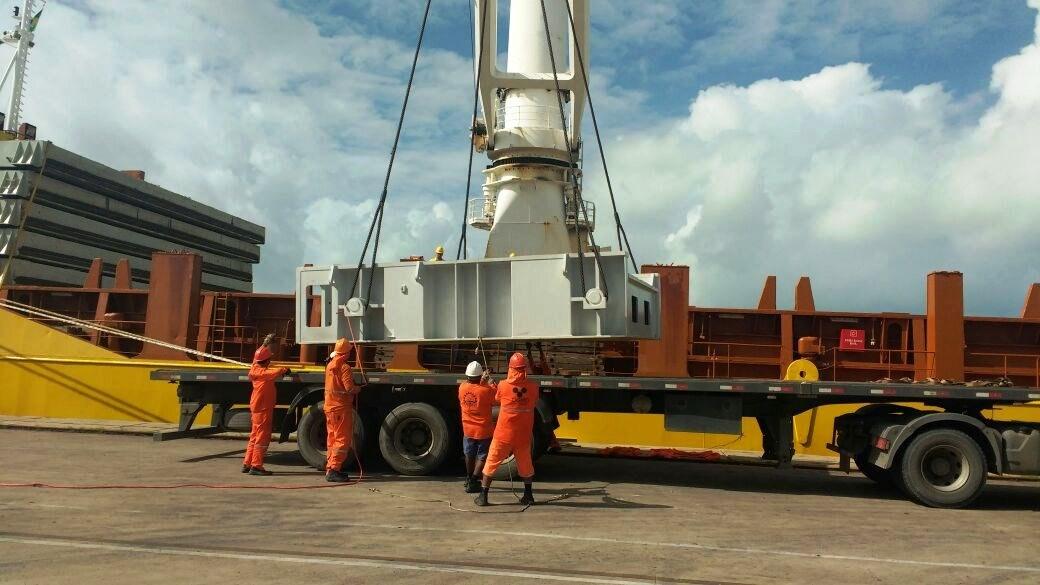 Transporte para o cliente EBrasil - Porto Suape - PE