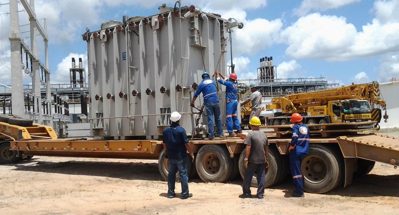 Carregamento de Transformadores Termelétrica - PE